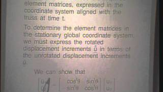 Lec 8 | MIT Finite Element Procedures For Solids And Structures, Nonlinear Analysis