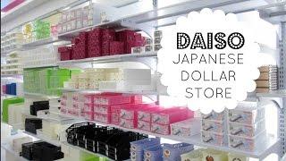 JAPANESE DOLLAR STORE    Daiso Store Tour & Organizing Ideas!