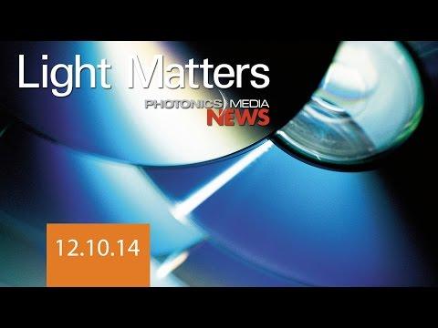 Blu-rays Power Solar Cells & UV System Fights Ebola - LIGHT MATTERS 12.10.2014