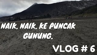 Video BROMO TRIP PART 2 - NAIK. NAIK. KE PUNCAK GUNUNG. - VLOG #6 MP3, 3GP, MP4, WEBM, AVI, FLV Desember 2017