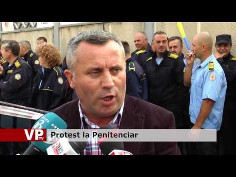 Protest la penitenciar