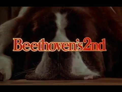 Beethoven's 2nd (1993) - Home Video Trailer