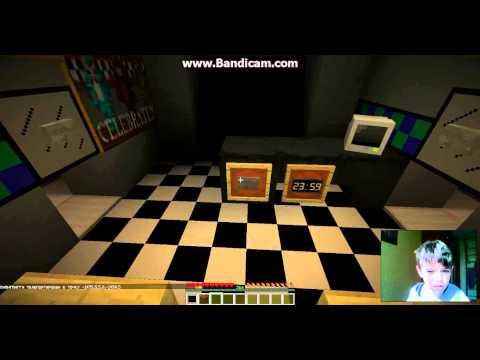 Майнкрафт 5 ночей с Фредди 2 прохождение карты