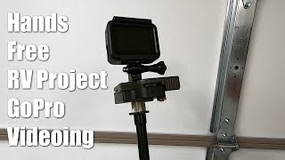 Hands Free GoPro Filming for RV Aircraft Projects