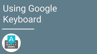 Google Keyboard YouTube video
