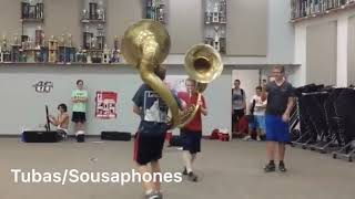 Marching Band as Vines