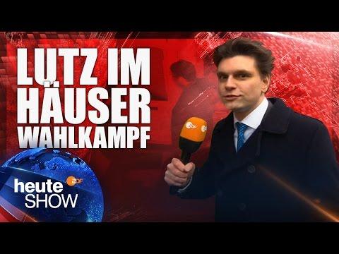 Lutz van der Horst begleitet die Grünen im Wahlkampf | heute-show vom 17.03.2017