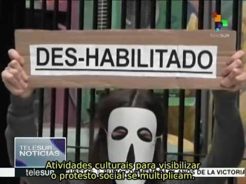 Argentina: centenas de protestos de funcionários públicos