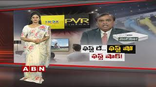 Reliance Jio's First Day First Show is Worrying Multiplexes? | Jio Gigafiber | ABN Telugu