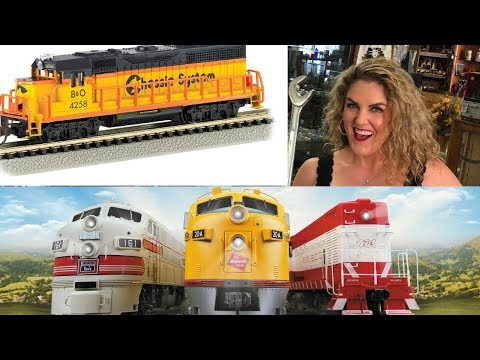 Large Collection of HO train Engines found in Storage Wars Unit Auction Locker