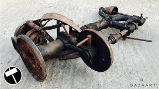 Video Antique and Rusty Drill Press Restoration MP3, 3GP, MP4, WEBM, AVI, FLV Juli 2019