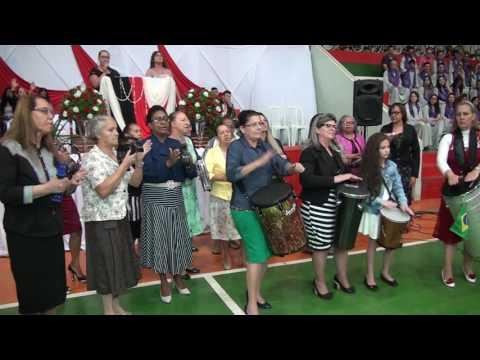 Grupo de Percussão Asafe  no Congresso de Missões AD. Palmeiras de Goiás em Forquilhinha SC