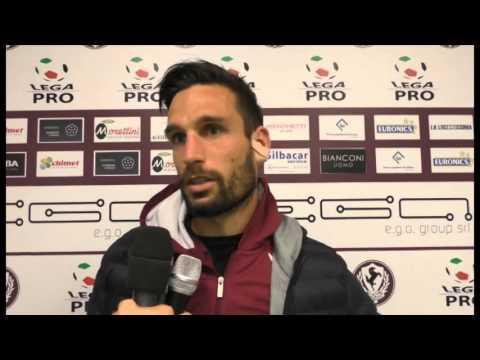 Arezzo-Maceratese 1-0, intervista a Defendi