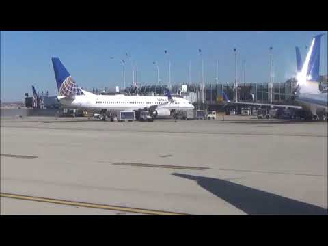 United Airlines 737 800 First Class KORD KMCO Takeoff