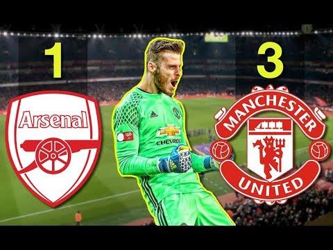 And De Gea Saved United   Arsenal-Man UTD Tactical Analysis