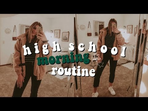 My REAL fall high school morning routine | Josie Jabs