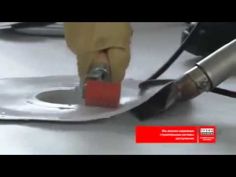 Технологии укладки полимерных мембран