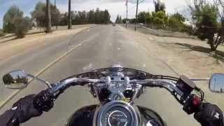 8. 2014 Triumph Rocket III Touring test ride