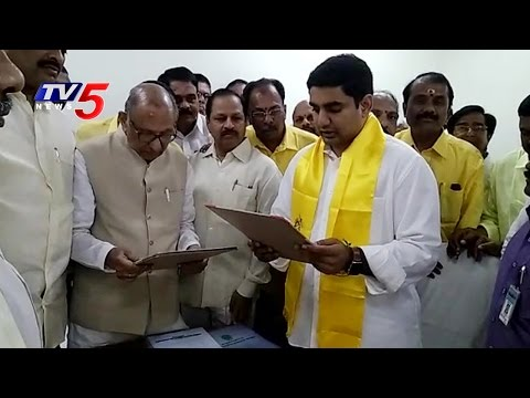 Nara Lokesh Takes Oath As MLC