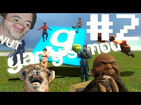 Let's play Garry's Mod! -Part.2- WTF BOOOM!