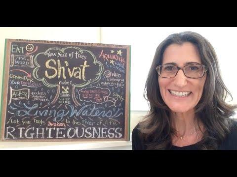 SH'VAT 5781 Chalkboard Teaching by Christine Vales