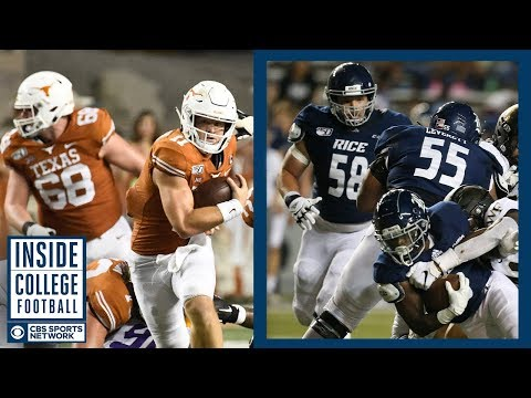 Video: #12 Texas at Rice Preview | Inside College Football