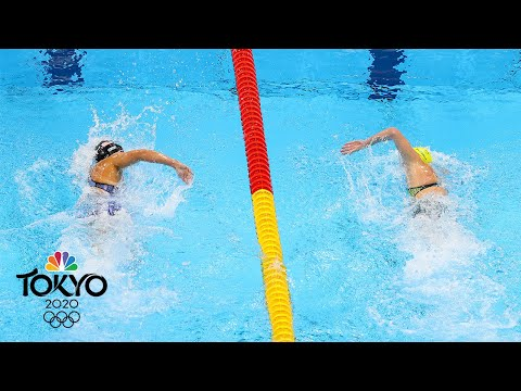 Best of Day 3 at the Tokyo Olympics: Ledecky and Titmus in a duel for the ages | NBC Sports