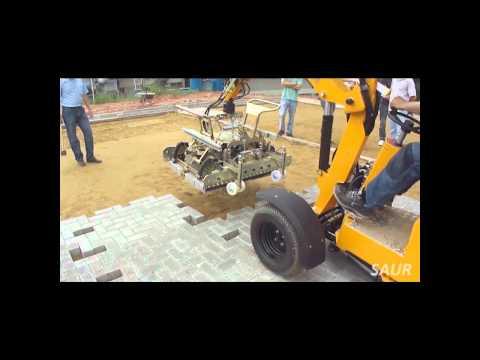 Máquina Pavimentadora