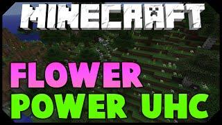 Minecraft: FLOWER POWER UHC [INTENSE, WEIRD, LUCKY, EPIC] w/AciDicBliTzz