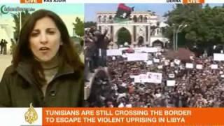 Zadnji snimci iz Libije - grad Derna (Al Jazeera LIVE)