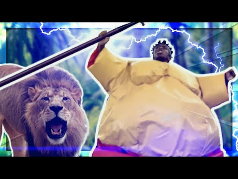 BABATUNDE VS THE LION