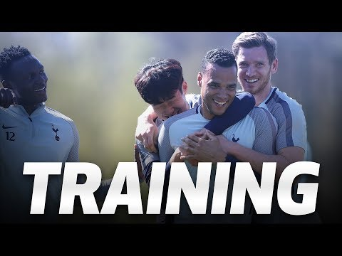 Video: TRAINING | SPURS GEAR UP FOR FA CUP SEMI FINAL