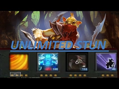 Dota 2 BH Ability Draft Unlimited Stuns 22-3 New Patch