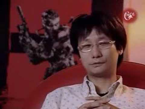 G4 Icons - Hideo Kojima (part 1 Of 3)