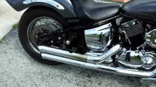 9. 2005 YAMAHA V STAR CUSTOM 1100C.