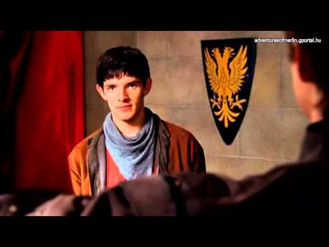 Merlin S01E04 Favourite Scenes - Merlin In The Official Camelot Ceremonial Robe