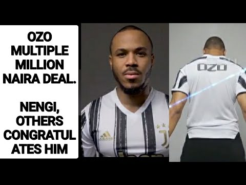 Ozo's New Deal. Nengi, Others Congratulates Ozo On His Juventus Multimillion Naira Deal Today 😊💃