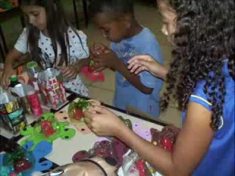 Projeto Educação no Campo e Reciclagem ESCOLA ESTADUAL BOM JESUS DO OESTE 2013.