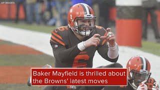 Baker Mayfield on Cleveland Browns offense after Odell Beckham Jr. trade: 'Pick your poison'