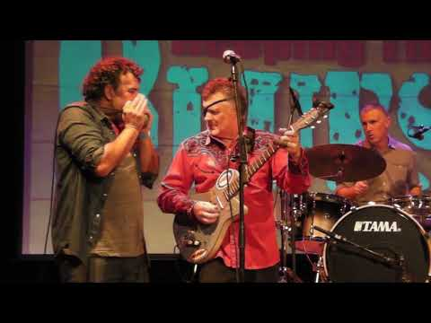 Mike Morgan & Jim Suhler with Alex Rossi - Give Me Back My Wig - LIVE