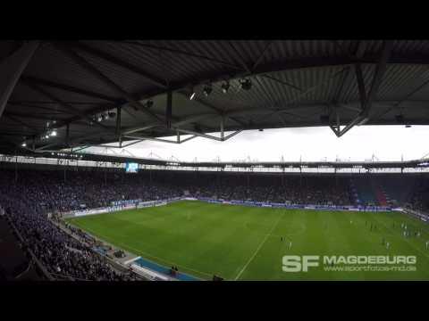 Video: 1. FC Magdeburg -SG Dynamo Dresden Stimmungshighlights der ersten Hälfte (HD Apr. 2016)