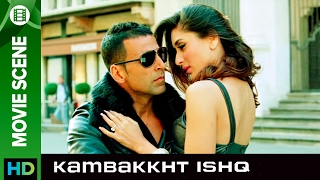 Feel the love  Kambakkht Ishq  Movie Scene