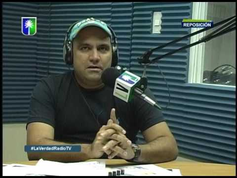 Entrevista a Edgar Habanero en La Verdad en Radio Tv