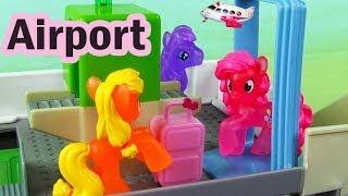 Video MLP Airport Security Check My Little Pony Travel Part 2 Rarity Pinkie Pie Apple Bloom MP3, 3GP, MP4, WEBM, AVI, FLV Juni 2018