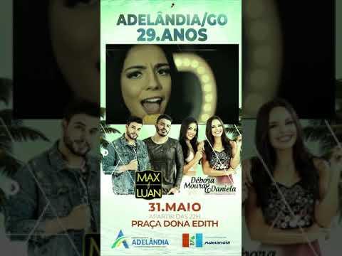 CHAMADA DE DIVULGAÇÃO - ANIVERSÁRIO DE ADELÂNDIA 29 ANOS