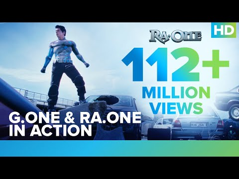 how to draw g.one from ra.one