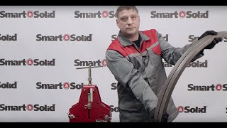 Трубогиб BendMax-200 в работе Smart&Solid