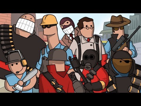 Team Fortress Lore in a Minute