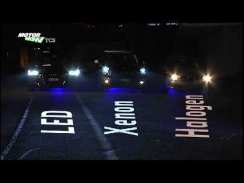 Licht-Vergleich: LED, Xenon, Halogen
