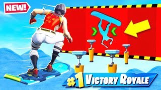 *EXTREME* DRIFTBOARD Parkour Course in Fortnite!